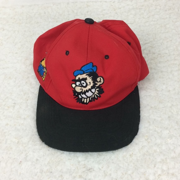 378f680d American Needle Accessories   Red And Black Brutus Hat Mens   Poshmark